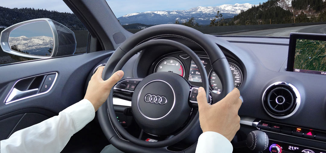 Audi S3 with hand accelerator and hand brake by Kempf