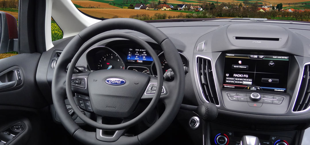 Ford C-Max with Darios digital hand controls