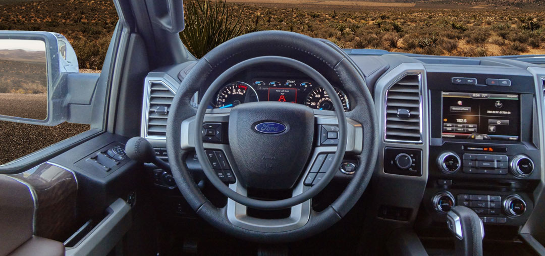 Ford F-150 with hand controls for trucks