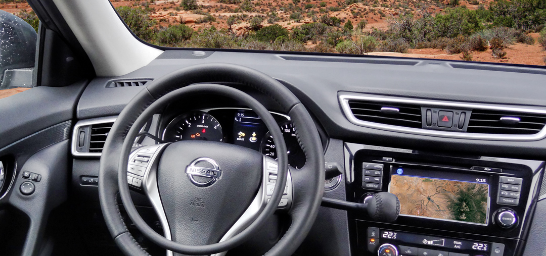 Nissan X-Trail with hand controls for driver with disability