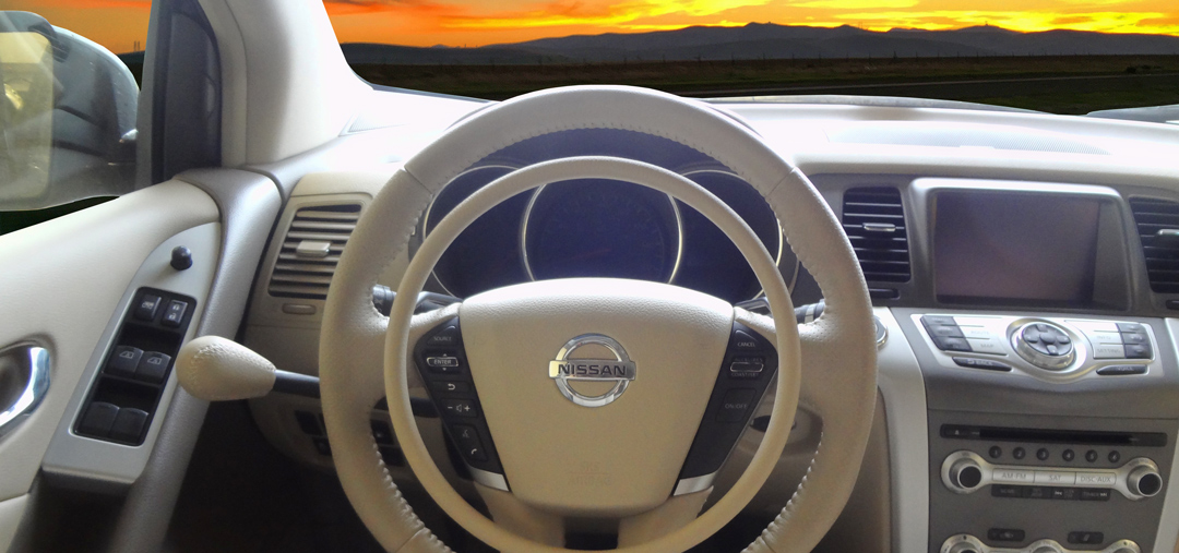 Nissan Murano with hand controls by Kempf