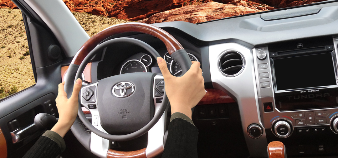 Toyota Tundra with truck hand controls by Kempf