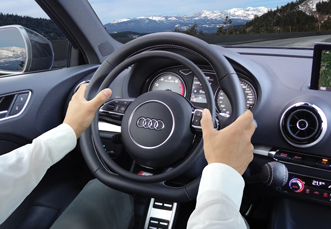 Audi S3 hand controls for disabled drivers