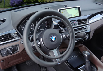 BMW X1 with digital hand controls Darios by Kempf