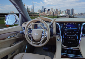 Cadillac Escalade with hand controls for trucks