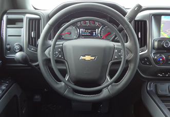Chevrolet Silverado with Darios hand controls