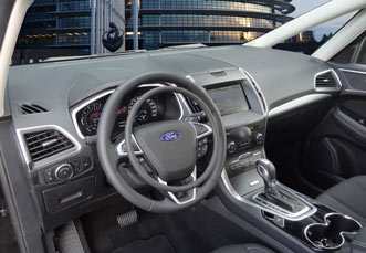 Ford S-Max with hand controls
