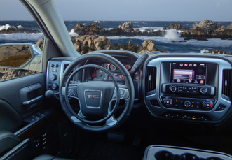 GMC Sierra with hand controls for trucks by Kempf