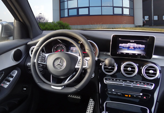 Mercedes GLC with digital hand controls for disabled drivers