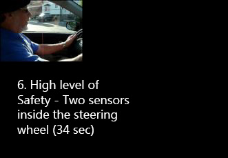 high level of safety of kempf hand controls